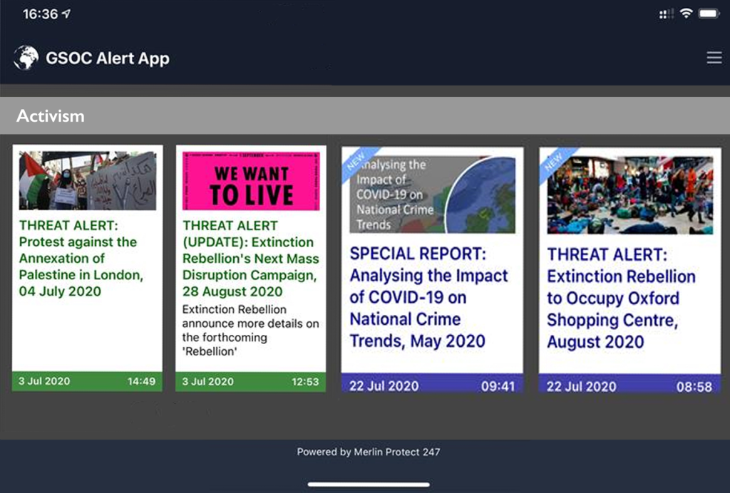 Image for Merlin Protect 24/7 – Mass Communications App